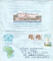 Kenya 2015 Turbo Vasco Da Gama Pillar Discoverer Fort Jesus Mombasa Aerogramme - Kenia (1963-...)