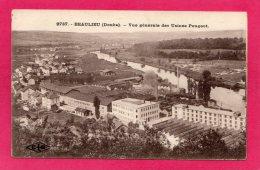 25 DOUBS BEAULIEU, Vue Générale Des Usines Peugeot, (C. Lardier, Besançon) - Sonstige Gemeinden