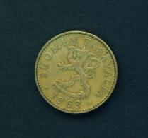 FINLAND  -  1963  50p  Circulated Coin - Finland