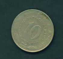 YUGOSLAVIA  -  1979  10d  Circulated Coin - Yugoslavia