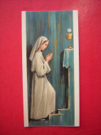 IMAGE PIEUSE / RELIGIEUSE   1965    COMMUNION SOLENNELLE - Images Religieuses