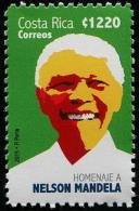 Costa Rica (2015) - Set -  /  Nelson Mandela - Nobel - Nobelprijs