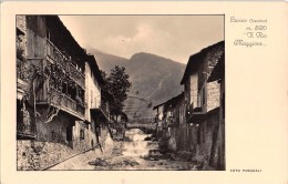 """03511 """"(TRENTO) LEVICO M. 520 - IL RIO MAGGIORE"""" FOTO PASQUALI. CART.  SPED. 1938 - Trento"""