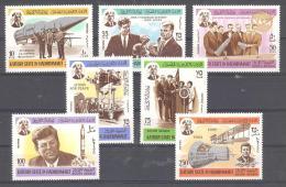 KATHIRI STATE IN HADHRAMAUT   Michel #   70 - 77  **   John F. Kennedy