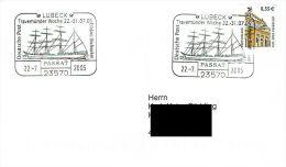 (224) Brief Mit SSt 23570 Lübeck 22.07.2005 PASSAT - Travemünder Woche - Ships