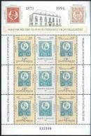 3598 Hungary 1996 Philately Stamp On Stamp Full Sheet MNH - Blocks & Kleinbögen
