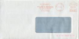 EMA,industrie,DRUMO Atelier De Mécanique De Valenciennes,59 Valenciennes,lettre Obliterée 6.3.1985 - Factories & Industries