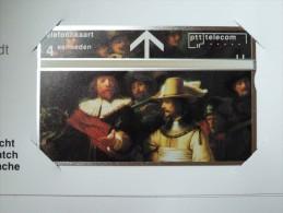 NETHERLANDS - L&G - Rembrandt - The Nightwatch - Set Of 3 - In Folder - Mint - Test & Dienst