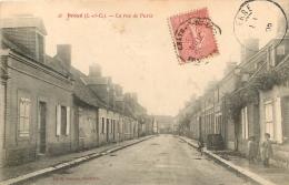 DROUE  LA RUE DE PARIS - Droue
