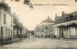 RARE  MEUSNES ROUTE DE CHATILLON - France