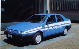 FORZE DI POLIZIA ALFA ROMEO 155 POLIZIA STRADALE - Militaria