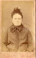 Photo-carte De Visite / CDV / Femme / Lady / Woman / Photo Maurice Et Cie / Bruxelles - Anciennes (Av. 1900)