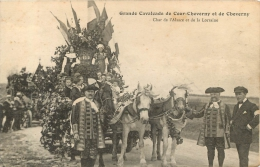 GRANDE CAVALCADE DE COUR CHEVERNY ET DE CHEVERNY CHAR DE L'ALSACE ET DE LA LORRAINE - Cheverny