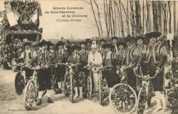 GRANDE CAVALCADE DE COUR CHEVERNY ET DE CHEVERNY  BICYCLETTES FLEURIES - Cheverny