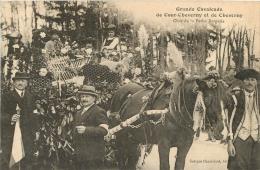 GRANDE CAVALCADE DE COUR CHEVERNY ET DE CHEVERNY CHAR DE LA PETITE BERGERIE - Cheverny