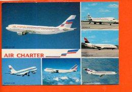 Avion - Flotte Utilisée Par AIR Charter Filiale Air France Et D'Air Inter - 1946-....: Ere Moderne