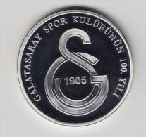 @Y@  Turkije / Turky   Galatasaray  Proof 2005   Silver - Turquie