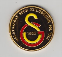 @Y@  Turkije / Turky   Galatasaray  Proof 2005   Silver / Color / Gold Plated - Turquie