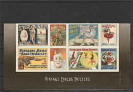 USA-2014-Vintage Circus Posters--MNH(**) - Ongebruikt