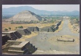 Square Of The Moon,Pyramid Of The Sun,San Juan Teotihuacan,Mexico,J16. - Mexico