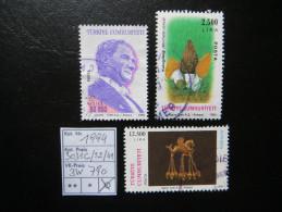 """1993  """" 3 Werte """"  Schön Gestempelt    LOT 790 - 1921-... Republik"""