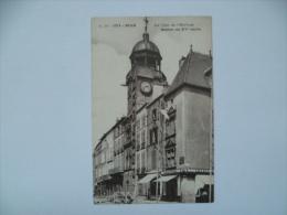 Lot De 2:RIOM:La Tour De L'Horloge + Le Palais De Justice Et La Sainte Chapelle. - Riom