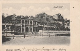 Budapest - Kiralyi Varlak - Kon. Hofburg   - Scan Recto-verso - Hongrie