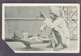 Old Card Of Sweetmeat Seller,India,J16. - Sudan