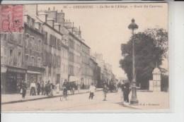 50 -  CHERBOURG -  Rue De L'Abbaye...Rte Des Casernes.....1904 - Cherbourg