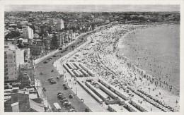 Montevideo -  Playa Pocitos  -  Scan Recto-verso - Uruguay