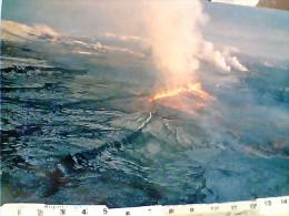 ISLAND ISLANDA KRAFLA FISSURE VULCANO ERUZIONE 1977 Volcanic Island Volcano Lava N1977 FF8170 - Islanda