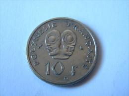 POLYNESIE FRANCAISE - 10 FRANCS 1972. . - French Polynesia