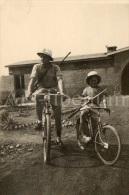 Photo Ancien / Belgisch-Congo / Congo Belge / 1952 / Vélo / Bicycle / Elisabethville - Africa