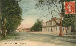 Dép 10 - Chemins De Fer - Gares - Bar Sur Aube - La Gare - état - Bar-sur-Aube
