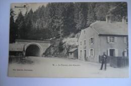 CPA 88 BUSSANG. Le Tunnel, Côté Alsacien. 12/06/1905. - Bussang