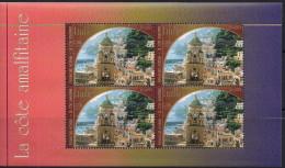 2002 UNO Genf  Mi. H-Blatt 35-40 **MNH  UNESCO-Welterbe: Italien - Genf - Büro Der Vereinten Nationen