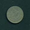 INDONESIA  -  1971  50r  Circulated Coin - Indonesia
