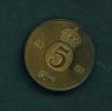DENMARK  -  1965  5o  Circulated Coin - Denmark