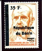 Bénin 2000           ( 35F/85F  -  Dr.Hansen )  Luxe **   TRES RARE - Benin – Dahomey (1960-...)