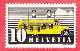 Automobil Postal PTT, Deux (2) Timbres N° 210 Y.1.9  Avec Variétés (mit Abarten) ** Ou O - Varietà