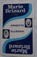 Jeu De Cartes 32 Cartes à Jouer Pub MARIE BRIZARD Anisette  - Carte Publicité Alcool - 32 Cartes
