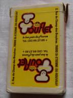Jeu De Cartes 32 Cartes à Jouer Pub TOUFLET Pain St Etienne Du Rouvray   - Carte Publicité Boulanger - 32 Cartes