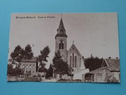 Kerk En Pastorij Evergem BELZEELE ( REPRO Copie / Copy ) - Anno 19?? ( Zie Foto Voor Details ) !! - Evergem