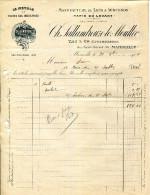 """MANUFACTURE DE TAPIS A UBUSSON """" TAPIS DU LEVANT """"CH.SALLANDROUZE LE MOULLEC.MARSEILLE. - Textile & Clothing"""