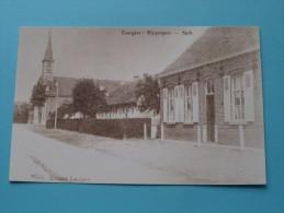 Kerk Evergem WIPPELGEM ( REPRO Copie / Copy ) - Anno 19?? ( Zie Foto Voor Details ) !! - Evergem