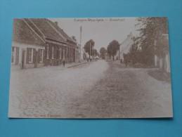 Dorpstraat Evergem WIPPELGEM ( REPRO Copie / Copy ) - Anno 19?? ( Zie Foto Voor Details ) !! - Evergem