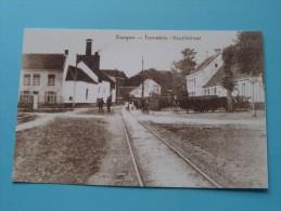 Tramstatie Kapellestraat Evergem ( REPRO Copie / Copy ) - Anno 19?? ( Zie Foto Voor Details ) !! - Evergem