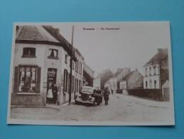 De Statiestraat Evergem ( REPRO Copie / Copy ) - Anno 19?? ( Zie Foto Voor Details ) !! - Evergem