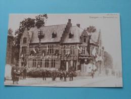Gemeentehuis Evergem ( REPRO Copie / Copy ) - Anno 19?? ( Zie Foto Voor Details ) !! - Evergem