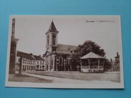 Gemeenteplaats Evergem ( REPRO Copie / Copy ) - Anno 19?? ( Zie Foto Voor Details ) !! - Evergem